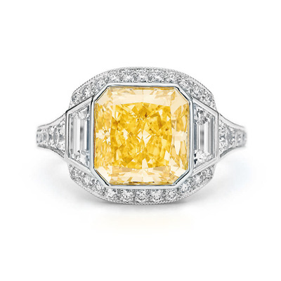 Diamant Jaune Jonquille Cool Costume Jewelry For You